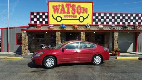 2007 Nissan Altima for sale at Watson Motors in Poteau OK