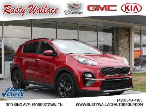 2020 Kia Sportage for sale at RUSTY WALLACE CADILLAC GMC KIA in Morristown TN