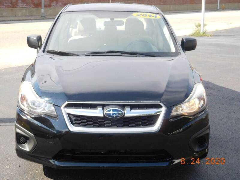 2014 Subaru Impreza for sale at Southbridge Street Auto Sales in Worcester MA