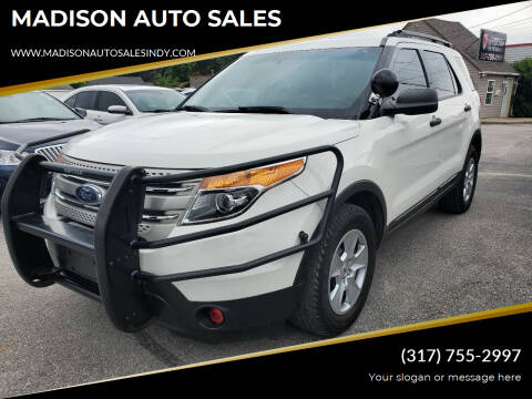 2012 Ford Explorer for sale at MADISON AUTO SALES in Indianapolis IN