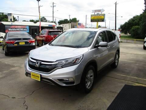 2016 Honda CR-V for sale at Metroplex Motors Inc. in Houston TX