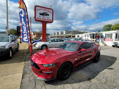 2018 Ford Mustang for sale at Ford's Auto Sales in Kingsport TN