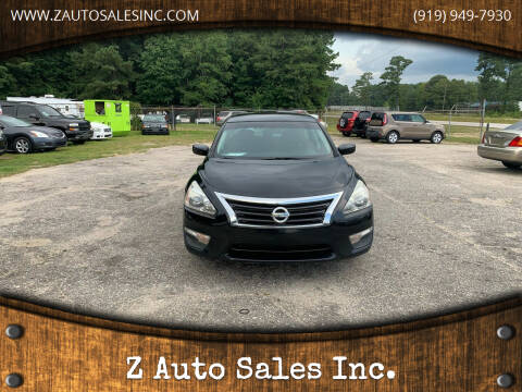 2014 Nissan Altima for sale at Z Auto Sales Inc. in Rocky Mount NC