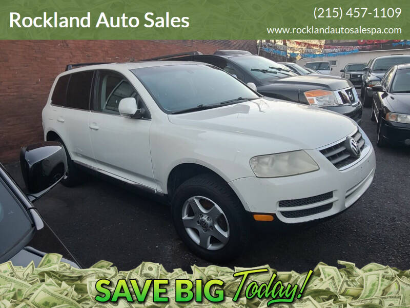 2004 Volkswagen Touareg for sale at Rockland Auto Sales in Philadelphia PA