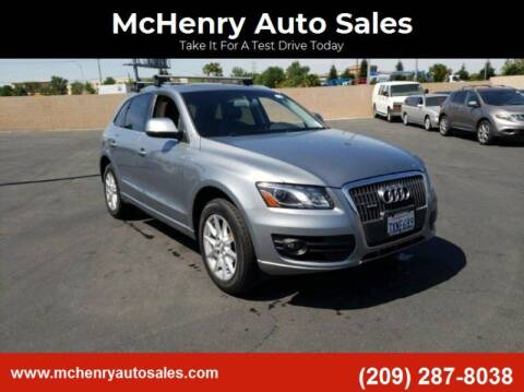 2011 Audi Q5 for sale at McHenry Auto Sales in Modesto CA