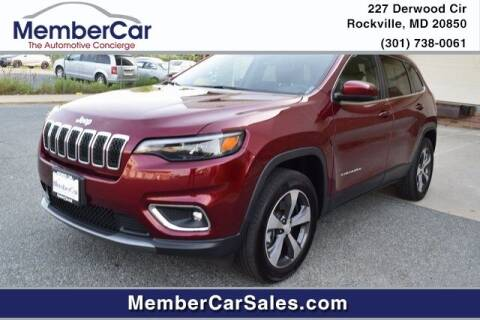 2019 Jeep Cherokee for sale at MemberCar in Rockville MD