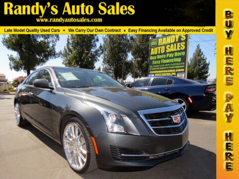 2018 Cadillac ATS for sale at Randy's Auto Sales in Ontario CA