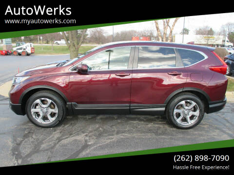2019 Honda CR-V for sale at AutoWerks in Sturtevant WI