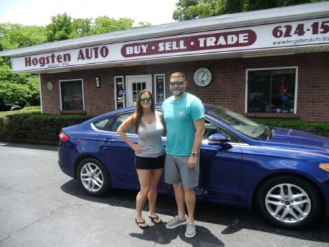 2015 Ford Fusion for sale at HOGSTEN AUTO WHOLESALE in Ocala FL