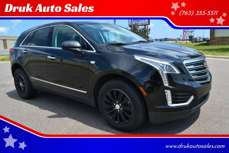 2017 Cadillac XT5 for sale at Druk Auto Sales in Ramsey MN