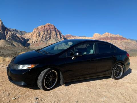 2012 Honda Civic for sale at LUXE Autos in Las Vegas NV