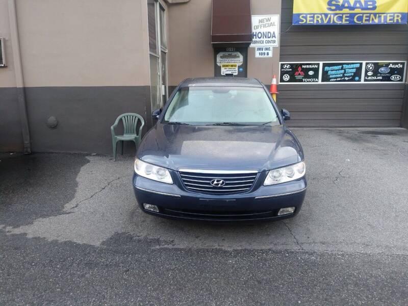 2007 Hyundai Azera for sale at JMV Inc. in Bergenfield NJ