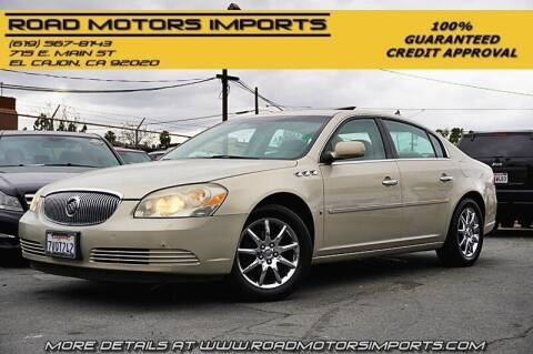 2008 Buick Lucerne for sale at Road Motors Imports in El Cajon CA
