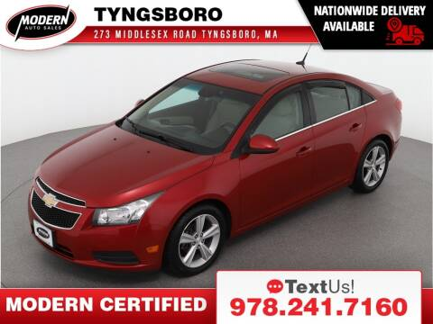 2012 Chevrolet Cruze for sale at Modern Auto Sales in Tyngsboro MA