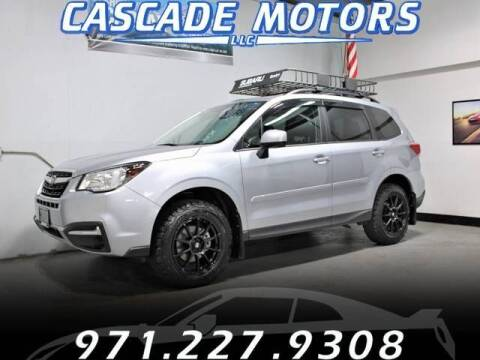 2018 Subaru Forester for sale at Cascade Motors in Portland OR
