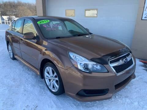 2013 Subaru Legacy for sale at G & G Auto Sales in Steubenville OH