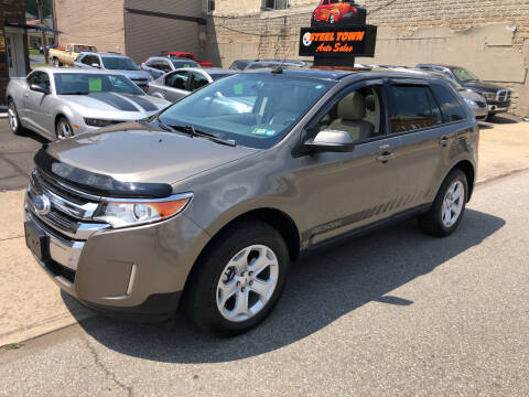 2012 Ford Edge for sale at STEEL TOWN PRE OWNED AUTO SALES in Weirton WV
