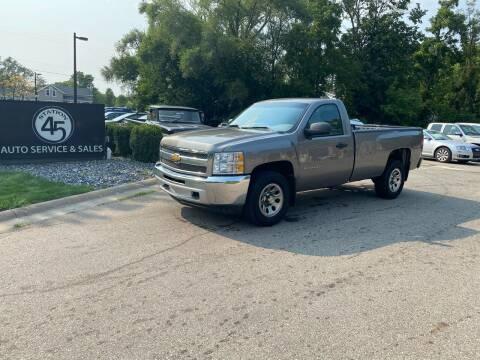 2013 Chevrolet Silverado 1500 for sale at Station 45 Auto Sales Inc in Allendale MI