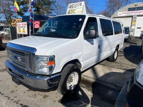 2013 Ford E-Series Wagon for sale at White River Auto Sales in New Rochelle NY