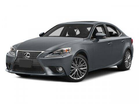 2014 Lexus IS 250 for sale at DAVID McDAVID HONDA OF IRVING in Irving TX