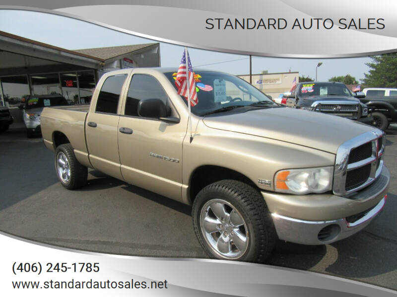 2005 Dodge Ram Pickup 1500 for sale at Standard Auto Sales in Billings MT