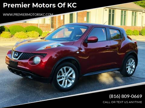 2012 Nissan JUKE for sale at Premier Motors of KC in Kansas City MO
