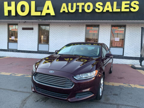 2013 Ford Fusion for sale at HOLA AUTO SALES CHAMBLEE- BUY HERE PAY HERE - in Atlanta GA