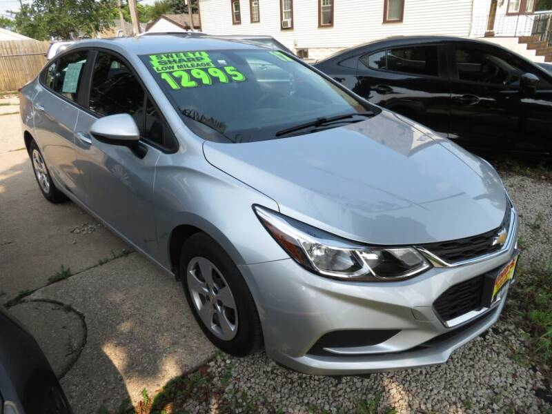 2017 Chevrolet Cruze for sale at Uno's Auto Sales in Milwaukee WI