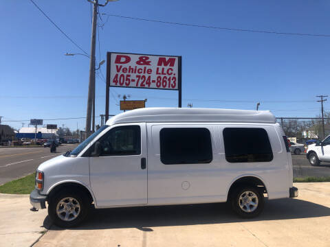 2001 GMC Savana Cargo for sale at D & M Vehicle LLC in Oklahoma City OK