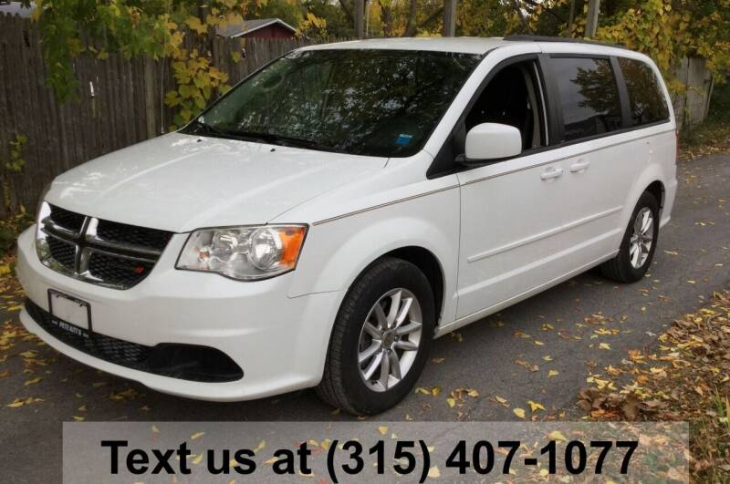 2014 Dodge Grand Caravan for sale at Pete Kitt's Automotive Sales & Service in Camillus NY
