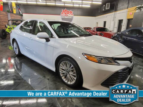 2018 Toyota Camry for sale at RoseLux Motors LLC in Schnecksville PA