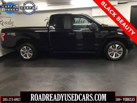 2018 Ford F-150 for sale at Road Ready Used Cars in Ansonia CT