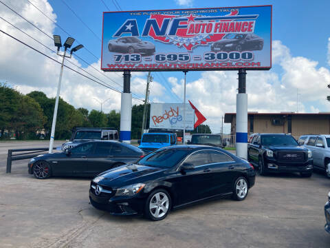 2016 Mercedes-Benz CLA for sale at ANF AUTO FINANCE in Houston TX
