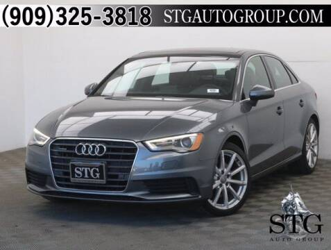 2016 Audi A3 for sale at STG Auto Group in Montclair CA