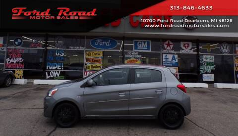 2019 Mitsubishi Mirage for sale at Ford Road Motor Sales in Dearborn MI