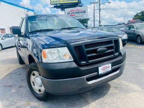2008 Ford F-150 for sale at Supreme Auto Sales in Chesapeake VA
