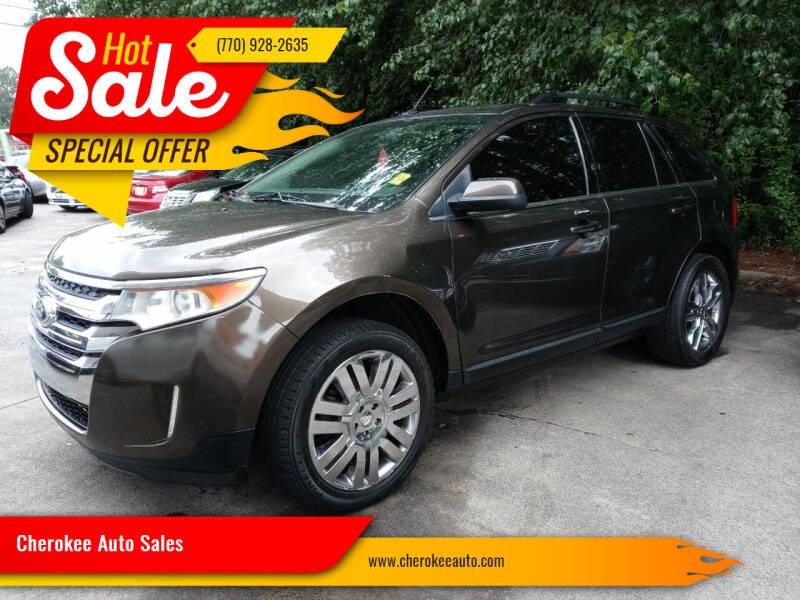 2011 Ford Edge for sale at Cherokee Auto Sales in Acworth GA