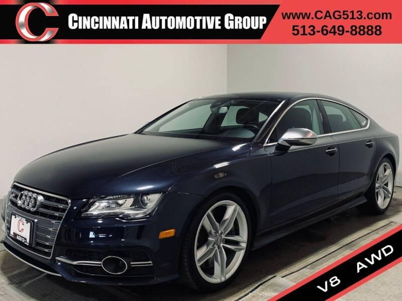 2013 Audi S7 for sale at Cincinnati Automotive Group in Lebanon OH