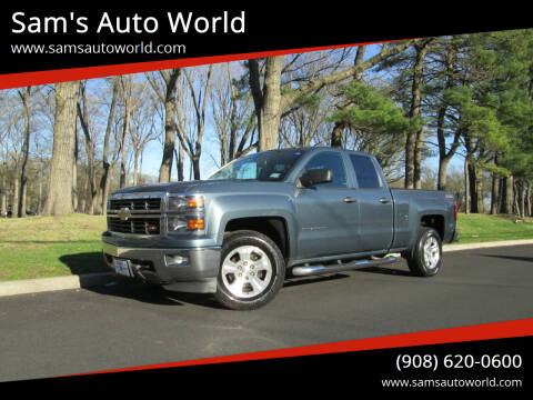 2014 Chevrolet Silverado 1500 for sale at Sam's Auto World in Roselle NJ