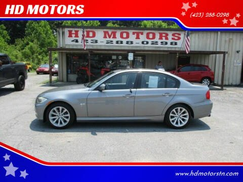 2011 BMW 3 Series for sale at HD MOTORS in Kingsport TN