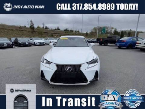 2017 Lexus IS 350 for sale at INDY AUTO MAN in Indianapolis IN