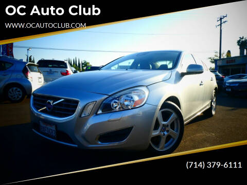 2013 Volvo S60 for sale at OC Auto Club in Midway City CA
