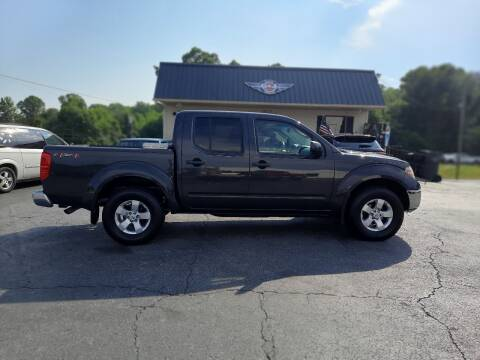 2010 Nissan Frontier for sale at G AND J MOTORS in Elkin NC