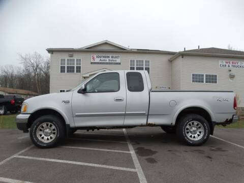 2003 Ford F-150 for sale at Cj king of car loans/JJ's Best Auto Sales in Troy MI