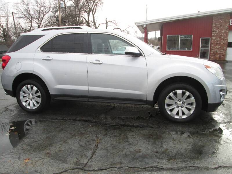 2011 Chevrolet Equinox for sale at Bob's Auto Sales in Canton OH