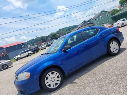 2013 Dodge Avenger for sale at Sissonville Used Car Inc. in South Charleston WV