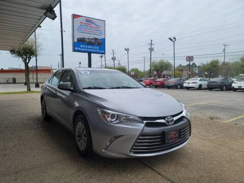 2016 Toyota Camry for sale at Magic Auto Sales in Dallas TX