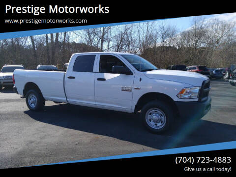 2016 RAM Ram Pickup 2500 for sale at Prestige Motorworks in Concord NC