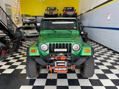 2005 Jeep Wrangler for sale at Euro Auto Sport in Chantilly VA