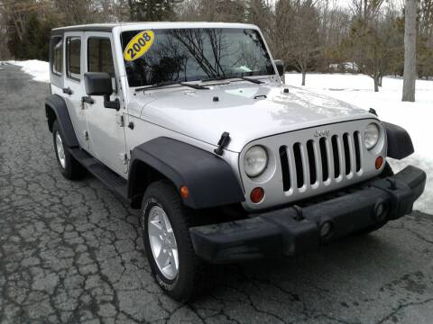 2008 Jeep Wrangler Unlimited for sale at ELIAS AUTO SALES in Allentown PA